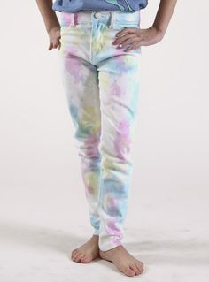 Electric Sugarcube Wash Jeans
