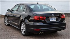 2012 Volkswagen Jetta GLI rear 3/4 view...and what a view it is :)