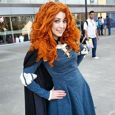 Merida cosplay from Brave by Red Fae Cosplay at SacAnime 2015. Photo by David Ngo.