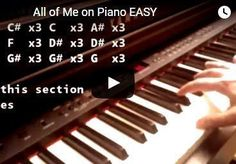 Piano Tutorials for Beginners - Easy Songs to Play on Piano - Piano Lessons for Beginners #EasyPianoLessons #SimplePianoTutorials