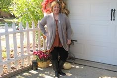 Leggings, Riding Boots, Cardigan, Blardigan