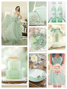 4 Wedding Trends for 2013 Bridal Today - Ann Arbor Wedding Photographer Wedding Color Schemes, Wedding Colors, Spring Wedding, Wedding Day, Wedding Stuff, Color Menta, Mint Color, Color Rosa, Mint Green Bridesmaid Dresses