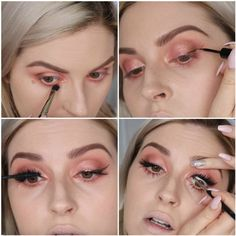 Make the eyes look dramatic | Peach Makeup Tutorial You Should Recreate Now!