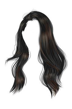 The Sims, Sims 4, Girl Hair Drawing, Pelo Sims, Manga Hair, Hair Illustration, Hair Png, Hair Sketch, Sims Hair