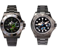 #Timeframes ... DRx x Bamford Watch Dept Army vs. Navy Rolex Collection