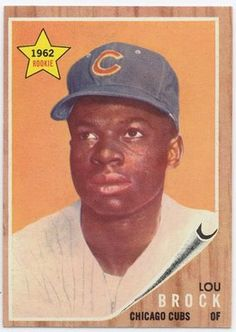 May 24, 1964  Lou Brock, of the  Chicago Cubs steals home for the first time.  Billy Williams also steals second base.