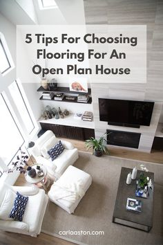 5 Tips For Choosing Flooring For An Open Plan House Cheap Bedroom Decor, Cheap Home Decor, Open House Plans, Country House Interior, Bedroom Night Stands, Fireplace Remodel, Sofa Home, Home Decor Paintings, White Decor