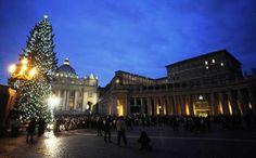 L'albero di Natale e Piazza San Pietro