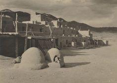 Ansel Adams (American, 1902-1984) Taos Pueblo, c. 1929 (Estimate $2,000-$3,000)
