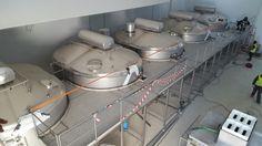 Preparativos plataforma de cubas de 15.000 litros