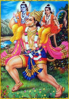 Lord Hanuman Carrying Lord Rama And Lord Lakshmana Hanuman Photos, Hanuman Images, Hanuman Jayanthi, Durga Maa, Shree Krishna, Hanuman Ji Wallpapers, Happy Hanuman Jayanti, Indiana, Hindu Statues