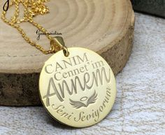 Personalized handmade jewelry by Alpdesignn Name Necklace, Pendant Necklace, Personalized Necklace, Etsy Seller, Handmade Jewelry, Creative, Stuff To Buy, Hand Print Ornament, Drop Necklace