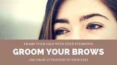Girl with great eyebrows