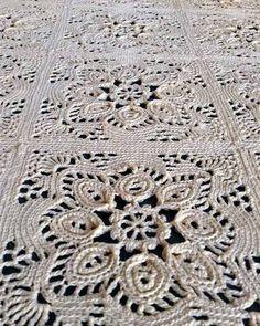 Picture of Provincial Crochet Bedspread Pattern