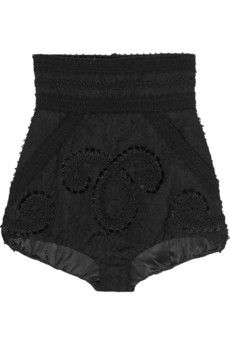 Dolce & Gabbana Embroidered jacquard shorts | NET-A-PORTER
