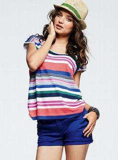 The VS Midi Denim Short #VictoriasSecret http://www.victoriassecret.com/clothing/shorts/the-vs-midi-denim-short?ProductID=70284=OLS=true?cm_mmc=pinterest-_-product-_-x-_-x