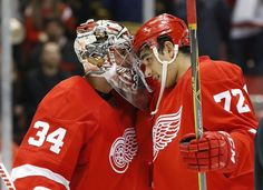 Rookie Athanasiou lifts Red Wings over Capitals