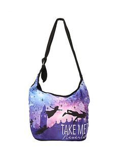 6040355666fd Disney Peter Pan Take Me To Neverland Hobo Bag