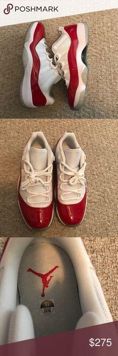 Jordan 11 Low Cherry Brand new! Never worn Jordan Shoes Jordan 11 Low Cherry  8428931f2