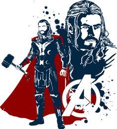 "extraordinarycomics: ""The Avengers Created by "" The Avengers, Avengers Characters, Thor, Loki, Marvel Fan, Marvel Dc Comics, Marvel Heroes, Mundo Marvel, Super Anime"