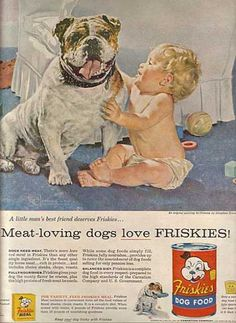 Vintage Food Advertisements of the 1950s