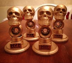 Fall MVP awards Roller Derby DIY