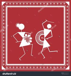 Find Indian Tribal Painting Warli Painting stock images in HD and millions of other royalty-free stock photos, illustrations and vectors in the Shutterstock collection. Thousands of new, high-quality pictures added every day. Madhubani Art, Madhubani Painting, Worli Painting, Fabric Painting, Traditional Paintings, Traditional Art, Indian Folk Art, Monochrom, Indian Paintings
