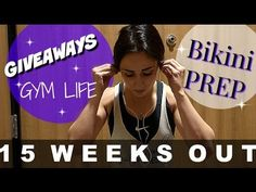 15 weeks out! Bikini prep is going well. Also... There is an awesome giveaway annoucement