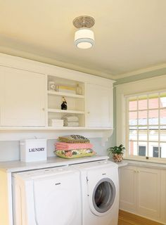 Laundry Room | happenstance home: Dreaming of Pretty Laundry Rooms
