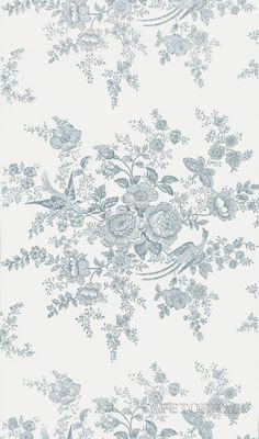 Tapet 22717: Vintage Dauphine Pale Teal från Ralph Lauren - Tapetorama