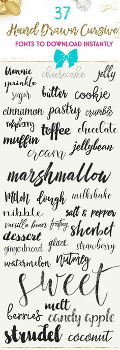 Having the same font as everyone else is like showing up to a party in the same dress as someone else. Be different with these 37 hand drawn cursive fonts to do Blog Fonts, Inkscape Tutorials, Pattern Texture, Fancy Fonts, Photoshop, Silhouette Cameo Projects, Cricut Creations, Digital Scrapbook Paper, Cricut Design