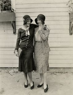 Joan Crawford and Kay Hammond, 1920s