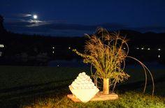 Okayama 岡山(おかやま) 後楽園 園内から中秋の名月をお楽しみいただく秋の恒例行事「名月観賞会」。 今年は9月19日(木)に開催します。