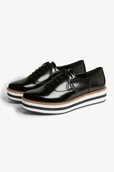 separation shoes a0636 37af7 Flatform sneaker - Black magic Sleek stripes - Shoes - Monki SE Smart  Casual,