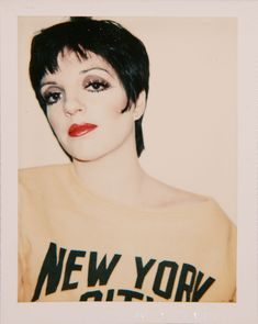 Your next coffee table book - Andy Warhol, Polaroids. is 500 pages of alluring vintage snapshots, like this one of chic Liza Minnelli circa 1978