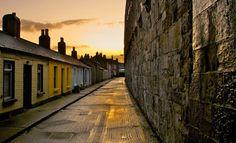 Cottages, Ireland, by Rene Bruun