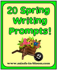 Spring Writing Prompts =-- - Re-pinned by @PediaStaff – Please Visit http://ht.ly/63sNt for all our pediatric therapy pins