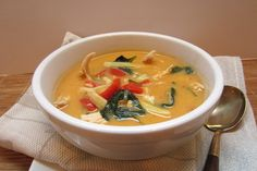 Thai Chicken Noodle Soup (Dairy-Free, Gluten-Free, Soy-Free)