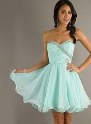 Online Shop 8th Grade Graduation Dresses 2014 Free Shipping Discount A Line Blue Short Homecoming Dresses for Girls|Aliexpress Mobile