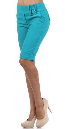 Cute Bermuda Shorts only $21.50 'till 2pm 5/22/12 (MST) - I love this color!
