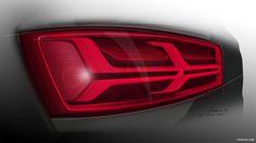 2016 Audi Q7 - Tail Light - Design Sketch