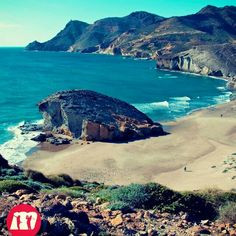 Playa de Monsul  parque natural Almeria