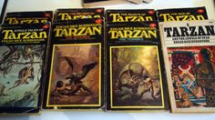 Vintage Tarzan Paperback Lot by AmyFindsEverything on Etsy