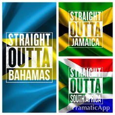 the bahamas national flag
