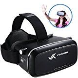 "Virtual Reality Headset 3D VR Glasses by Voxkin - High Definition Optical Lens, Fully Adjustable Strap, Focal and Object Distance - Perfect VR Headset for iPhone, Samsung and any Phones 3.5"" to 6"" - http://themunsessiongt.com/virtual-reality-headset-3d-vr-glasses-by-voxkin-high-definition-optical-lens-fully-adjustable-strap-focal-and-object-distance-perfect-vr-headset-for-iphone-samsung-and-any-phones-3-5-to-6/"