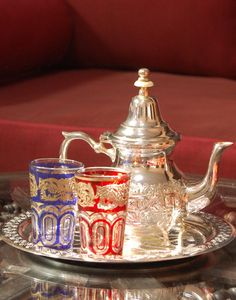 Moroccan Tea Set for Two