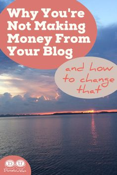 5 reasons most bloggers don't make money - and how you can be one of the few who do. If you're interested in making money from your blog, don't miss this!
