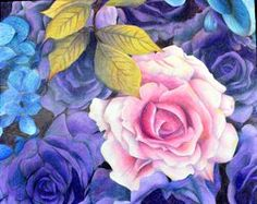 color drawings of flowers - Αναζήτηση Google