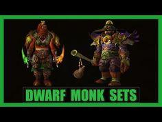 Dwarf Monk Set | WoD 7.1 Gear Transmog