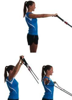 Shoulder exercises for a stronger swim